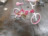 toddler's pink and white bicycle Chicago, 60629