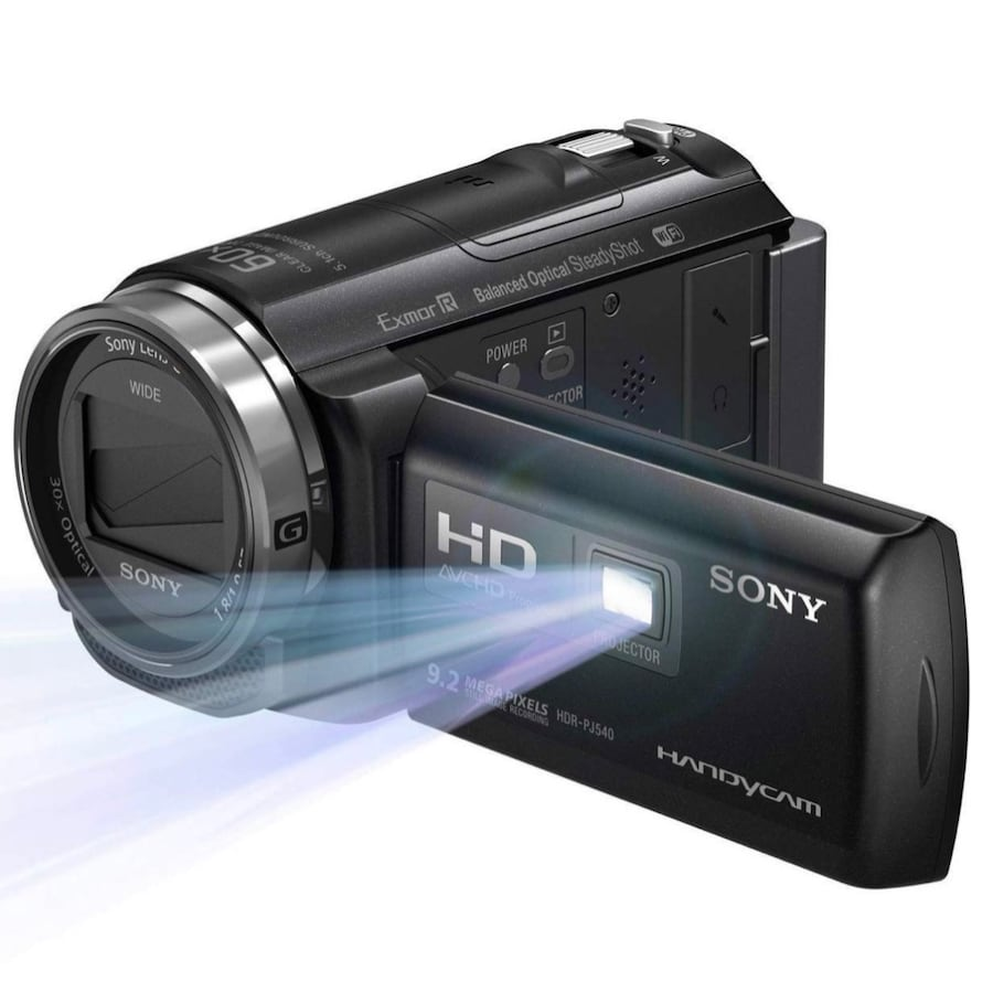 Sony Camera Built-In Projector