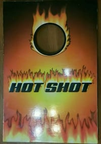 HOT SHOTS ON FIRE WOODEN CORN HOLE BOARDS
