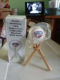 Jackie Robinson 50th anniversary collectable  Benedict
