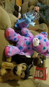assorted-color plush toy lot 3730 km