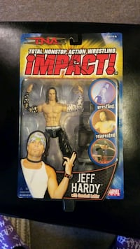 Rare Jeff Hardy Action Figure  Mississauga, L5N 3A8