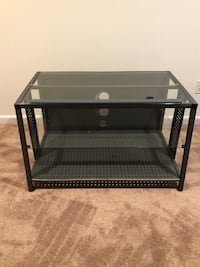 TV Stand - Glass and Metal Columbia, 21044