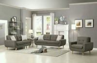 Deryn Gray Living Room Set   Houston, 77036