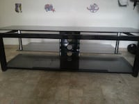 Glass tv stand Vancouver, V6A