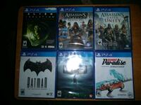 PS4 Games 15.00 each