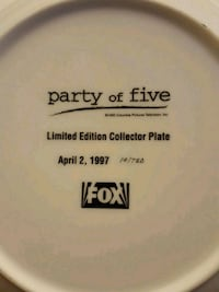 Collectors plate Greenfield, 53228