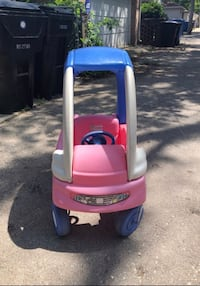 Step 2 Pink Ride and Push Car