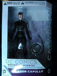 DC. Comics Greg Capullo action figure box