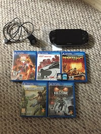 PlayStation Vita - 8GB memory card - 7 games Lethbridge, T1J 3P3