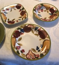 Three matching Serving dishes with free delivery. Brand new London