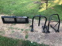 Motorcycle stands and ramp