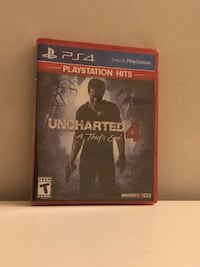 Uncharted 4: A Thief's End (Unopened) Ashburn, 20148