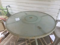 round white wooden table with four chairs Harris County, 31808