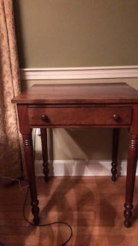 Antique table.  Tongue and groove.  Possibly cherry or maple.  Perfect condition! Wrentham, 02093