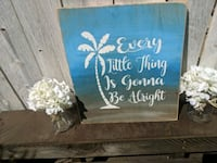 Every little thing. Wooden wall decor  Lake Elsinore, 92530