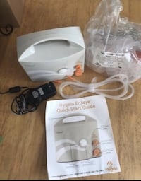 white and gray Conair foot spa with box Washington, 20024