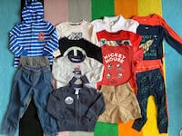 Set of size 3T clothing from Carter's, Calvin Klein, etc Arlington, 22201