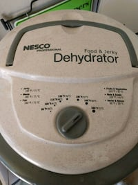 Nesco food dehydrator Chandler, 85248