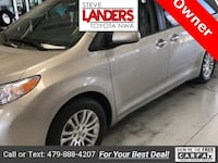 2015 Toyota Sienna XLE Rogers, 72758