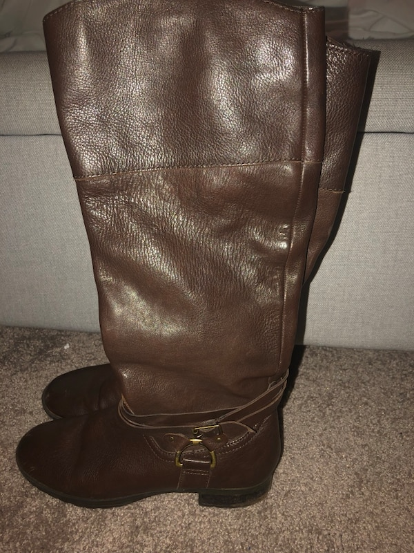 Size 6 Ralph Lauren Leather Riding Boots 0e609181-fee8-4645-bc09-31ebcd9f44a1