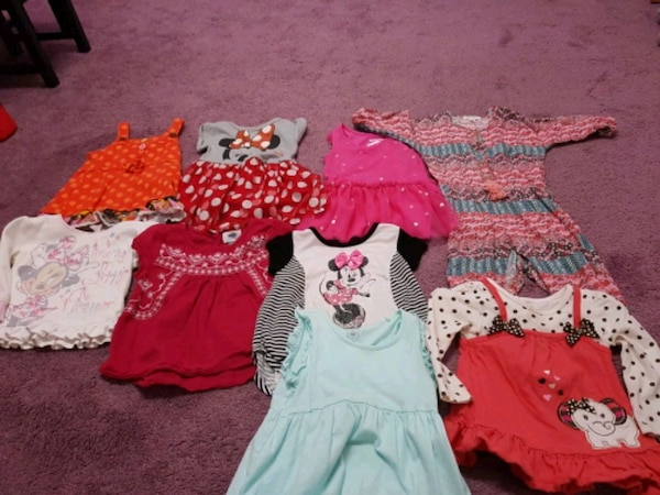 12 to 18 months cloths in very good condition