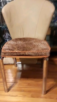 Comtempory animal print chair