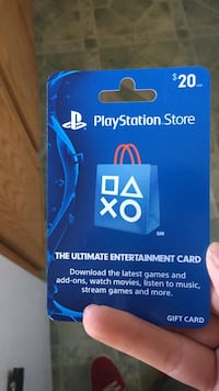 PS4 20$ card Redmond, 97756