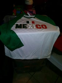 white and green Adidas jersey shirt Glendale, 85301