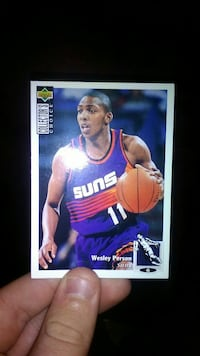 Upper Deck Pheonix Suns 11 Wesley Person collection card