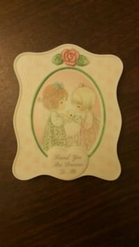 NEW Precious Moments Plaque w Free Gift