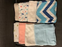 Eight assorted color swaddles Gaithersburg, 20877