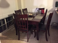 6 Chairs Dining Table Richmond Hill, L4C 8B8
