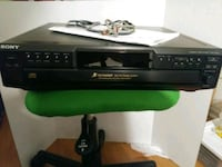 SONY 5-DISC CHANGER MINT COND