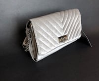 NWT g by guess Velvet chevron Crossbody