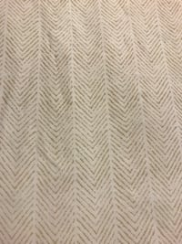 Tommy Hilfiger shower curtain, white & tan zig zag design Taneytown, 21787