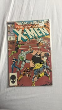 Marvel The Fall of the Mutants The Uncanny X-Men comic book
