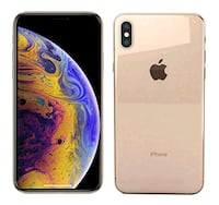 Gold xs max brand new Boston