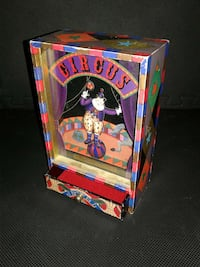 Vintage Dancing Clown Music Box from Japan Montgomery Village, 20886