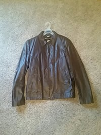 Brown Leather Jacket Rogers, 72758