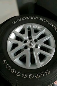 Nissan Wheels and tires.