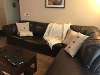 Faux leather sectional - great piece! Eden Prairie, 55344