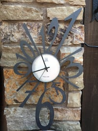 Old vintage metal clock made in Italy Huntington Beach, 92648