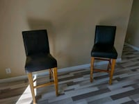 2 High Back Leather Bar-Stools Mission Viejo, 92691