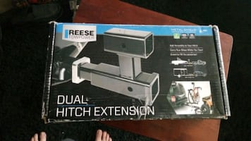 Reese towpower dual hitch extension