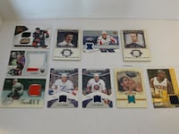 NHL GETZLAF,TROTTER,NBA JERSEY PATCH CARDS Pickering, L1V 3V7