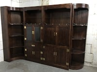 Display/Shelving cabinet
