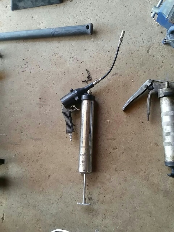 Used Air powered grease gun for sale in Beech Island - letgo