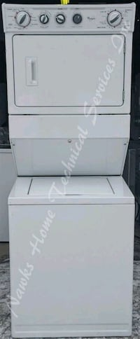 Whirlpool Stacking Washer Dryer, 12 month warranty Richmond Hill, L4C 3G2