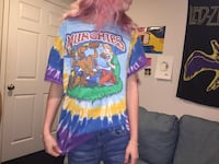 VINTAGE SCOOBY DOO MUCHIES TIE DYE T SHIRT Chesterfield, 63017